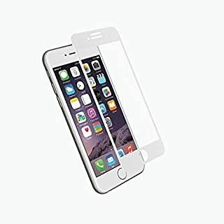 Full Cover Edge to Edge Tempered Glass Screen Protector for iPhone SE 2020 - WHITE