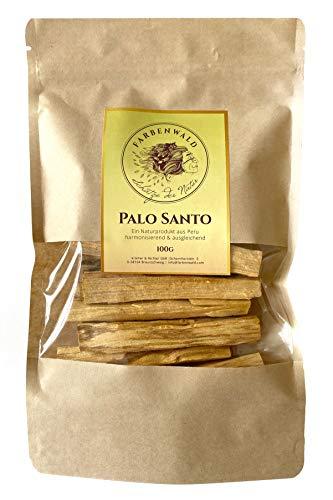 farbenwald - Palo Santo - feine Scheite, 100g, 15-25 Sticks, aus Peru, Top Qualität & Duft