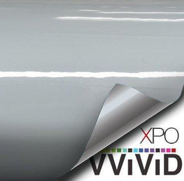 VViViD+ Premium Vinyl Wrap Film (3ft x 5ft, Gloss Nardo Grey)