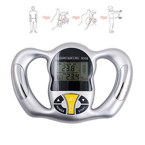 Tevedin Digital Body Fat Analyzer Handheld Body Fat Measurement Tool Health Monitor Body Fat Monitor Device