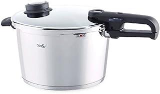 Fissler vitavit premium / Olla a presión (8 litros, Ø 26 cm) de acero inoxidable, 2 niveles de cocción, apta para cocinas de inducción, gas, vitrocerámica y eléctricas
