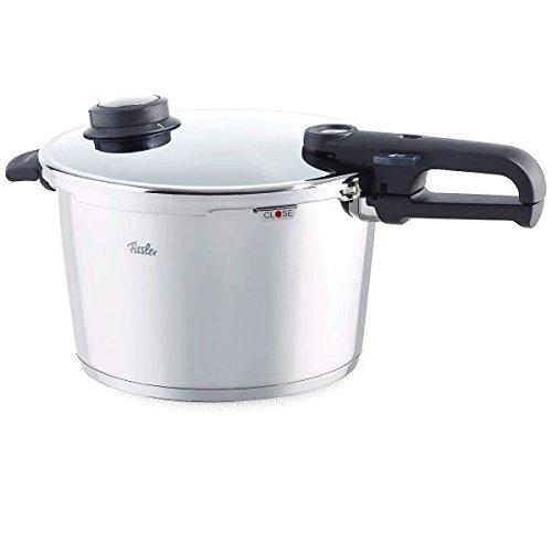 Fissler vitavit premium Stainless Steel Pressure Cooker 620-700-08-070/0, 8.0 L Pressure Cooker 26 cm Diamete, Electric