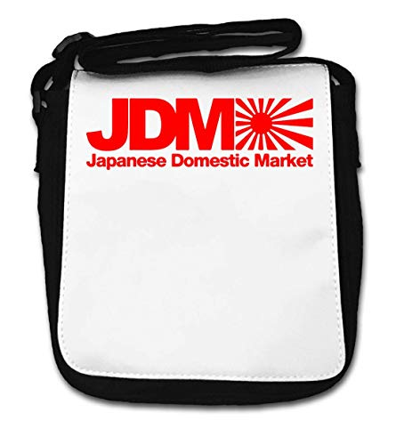 JDM Japanese Domestic Market Rising Sun Flag Graph Small Shoulder Bag