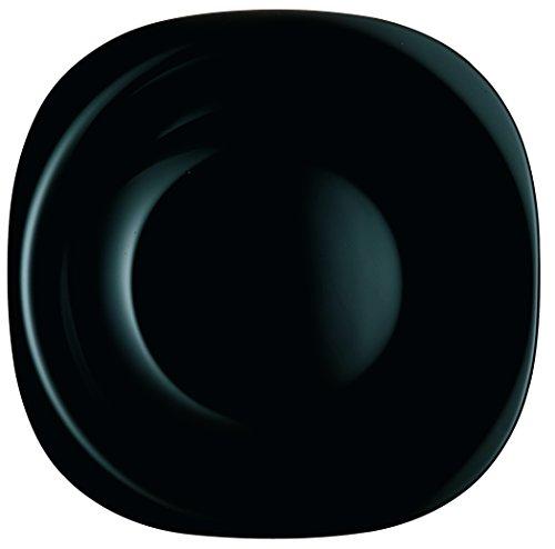 Luminarc Asekible Plato Llano 26 cm Carine Negro Lum