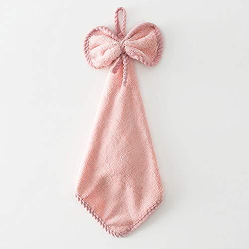 dfsgrfvf handdoeken 4 stuks nieuwe microvezel roze zakdoek handdoeken van koraal van hoogwaardig koraal voor keuken hangend zachte doek voor reiniging