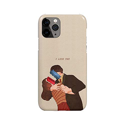 Sconosciuto iPhone 11 Case, Cartoon Couple Lego DP287 Case for iPhone 11 Protective Phone Cover, Abstract Funny Gorgeous [Double-Layer, Hard PC + Silicone, Drop Tested]