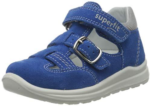 Superfit Baby Jungen Mel Sandalen, Blau (Blau/Hellgrau 80), 24 EU