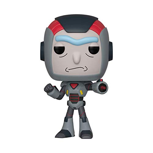 Funko- Pop Figura de Vinilo: Animación: Rick & Morty S6-Rick in Mech Suit Coleccionable, Multicolor, Estándar (40248)