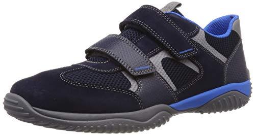 Superfit Jungen Storm Sneaker, Blau (Blau 80), 25 EU
