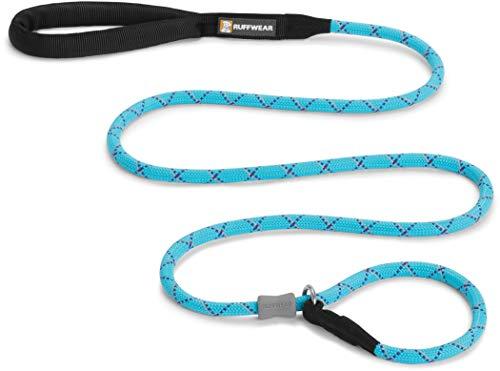 Ruffwear Hundeleine, Alle Hunderassen, Länge: 1,5 m, Durchmesser: 11 mm, Robustes Kernmantelseil, Hellblau (Blue Atoll), Just-a-Cinch