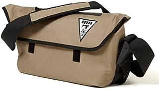 【majestic365mil マジェスティックミル】 防水メッセンジャーバッグ 鞄 【ベージュ】 CHILI DOG MESSENGER熱着加工 【アウトドアシリーズ】
