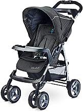 TERO-55101 Monaco - Carrito de bebé, color negro