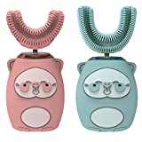 perfeclan 2-Pack Children Kids U-shaped Electric Toothbrush Teeth...