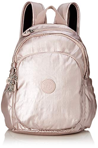 Kipling Delia Mini Handbag, 8.0 liters, Metallic Rose