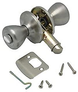 RV Trailer AP PRODUCTS Knob Type Privacy Knob - Ss Entry Door Lock