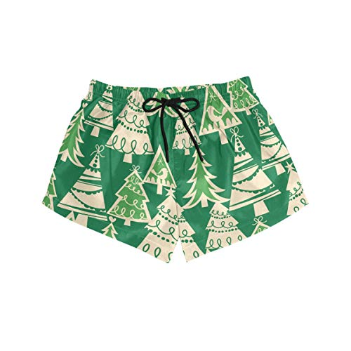 DEZIRO Holiday Forest Kraft Box Geschenkpapier Muster Surf Damen Breeze Boardshort Badeshorts Gr. S, 1
