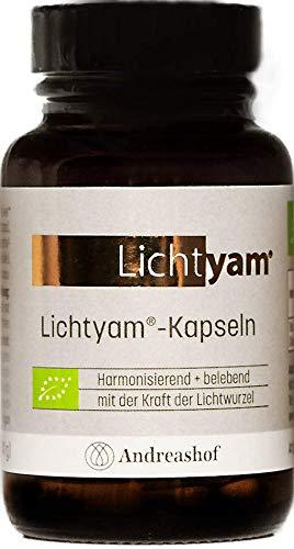 Lichtyam®-Kapseln, Lichtwurzel, Chinesische Yams, Dioscorea batatas, Lichtyams