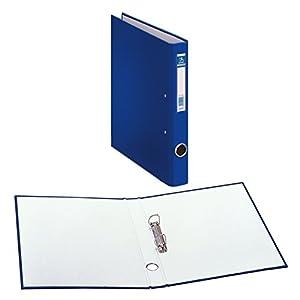 Dohe Oficolor – Carpeta, 2 anillas de 25 mm, folio, color azul