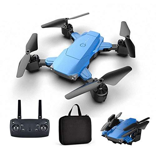 Hongzhi Dron plegable con cámara HD 4K – Gran angular vídeo en directo RC cuadricóptero con avión de altura controlado por radiocontrol, modo de seguimiento para principiantes