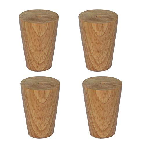 Holzmöbelbeine,Konische Sofabeine,DIY-Tischbeine,Geeignet für Couchtische,TV-Schrankbetten usw. (10cm/3.94in)