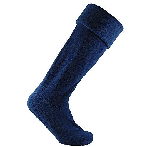 Horizon - Calcetines polar para botas de agua unisex (36-38 EU) (Azul marino)