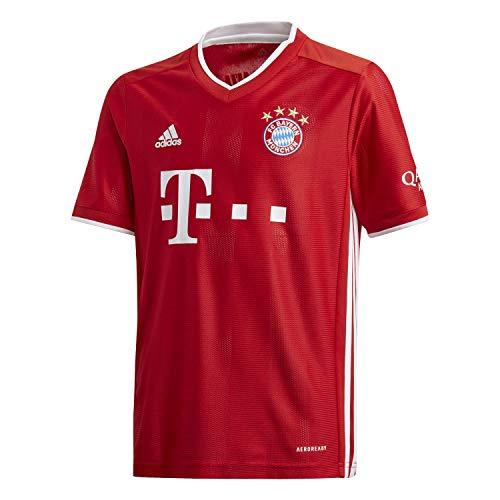 adidas Kinder FC Bayern 20/21 Heim Fußballtrikot rot 152