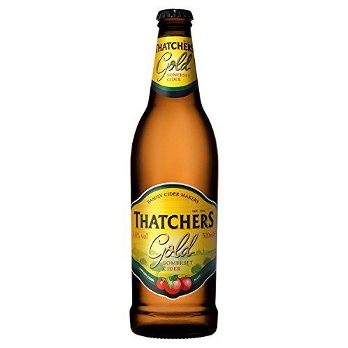 Thatchers Gold-Somerset Cider 500ml (Packung mit 6 x 500 ml)