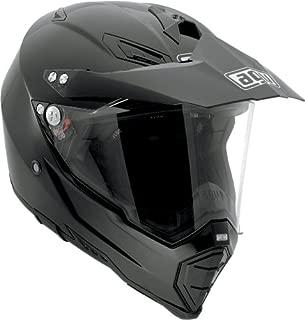 AGV AX-8 Dual Sport Evo Helmet (Black, XXX-Large)