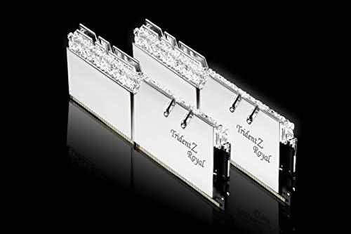 G.Skill Trident Z Royal - Modulo di memoria da 16 GB, DDR4, 3600 MHz, 16 GB, 2 x 8 GB, DDR4, 3600 MHz