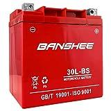 Banshee YTX30L-BS High Performance Power Sports Battery 4 year Warranty