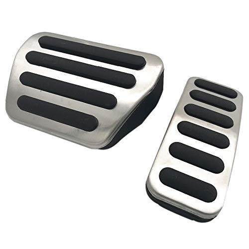 TOOGOO Accesorio pPara Automóvil pPara Land Range Rover Sport / 2013-2018 Acelerador de Gas Reposapiés Cojín de Pedal Modificado Reinstalar la Cubierta de Etiqueta Adhesiva