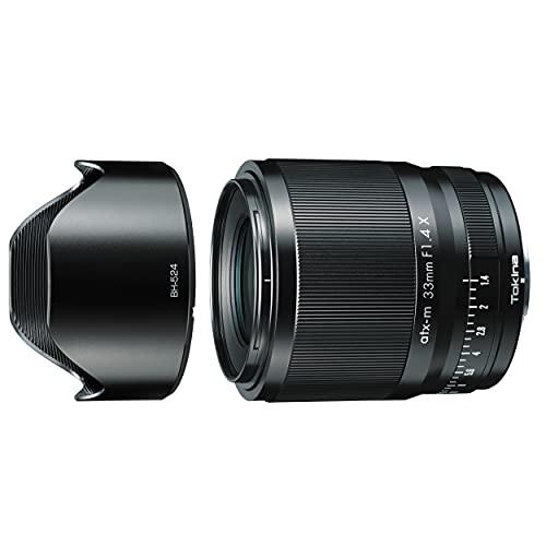 【逆輸入モデル】 Tokina 単焦点レンズ NEW atx-m 33mm F1.4 LTD X フジXマウント APS-Cフォーマット 海外モデル 640357