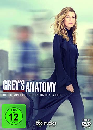 Grey's Anatomy: Die jungen Ärzte - Die komplette sechzehnte Staffel [6 DVDs]