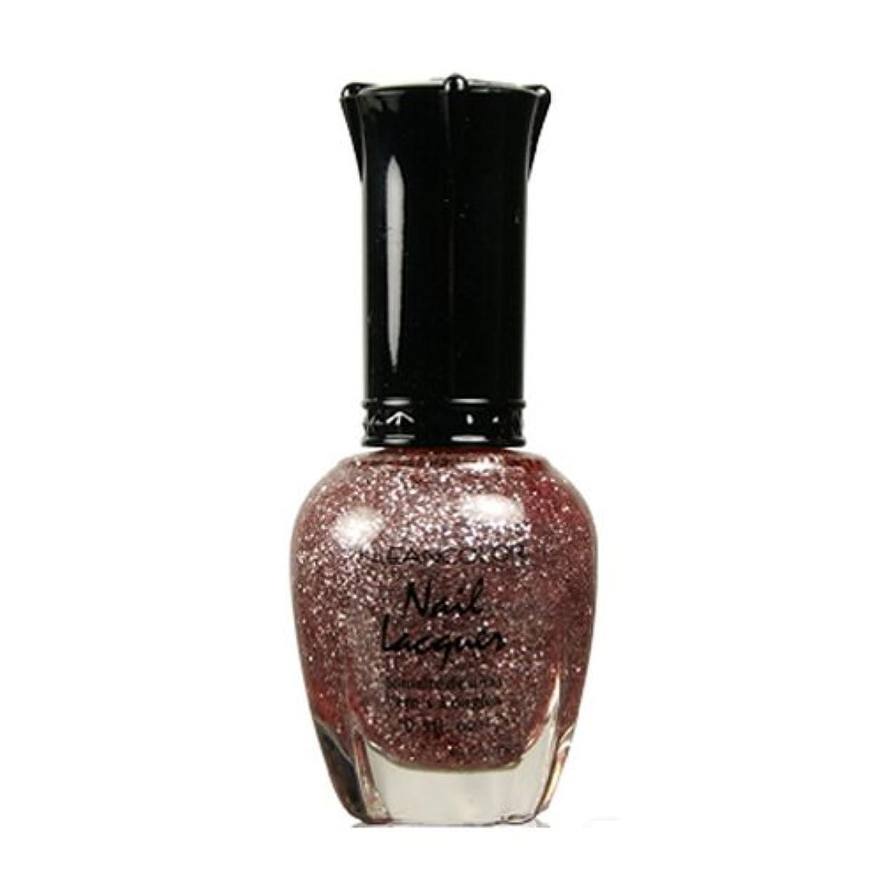 興奮するずらす雄弁家(3 Pack) KLEANCOLOR Nail Lacquer 3 - Diamond Pink (並行輸入品)