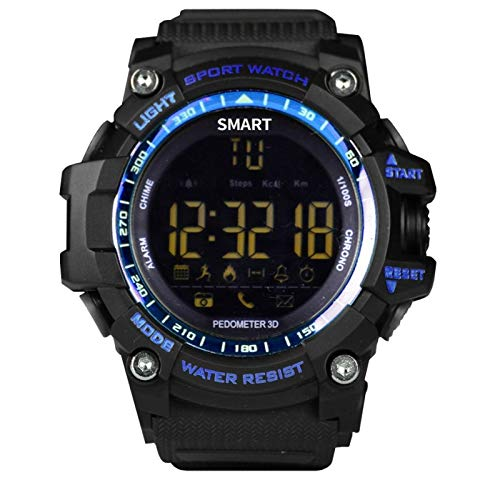 Brigmton BWATCH-G1 SmartWatch IP67, Azul