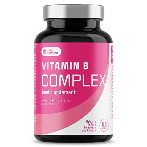 Vitamin B Complex - High Strength 180 Capsules - 8 bio-Available b Vitamins at high Strength doses, Including Niacin, Pantothenic Acid, Thiamine, B6, Riboflavin, B12, Folic Acid, Biotin.