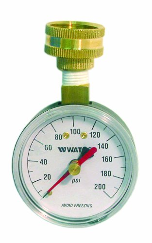 Watts 0950200 DP IWTG Water Pressure Test Gauge, 43894