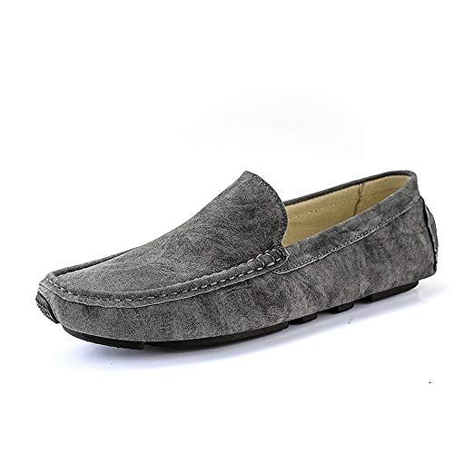 Heren 2019 schoenen Rijden Loafer Voor Heren Boot Moccasins Microvezel Lederen Slip Op Stijl Low Top Eenvoudige Zachte Ademende Deodorant Heren Rijden Loafer
