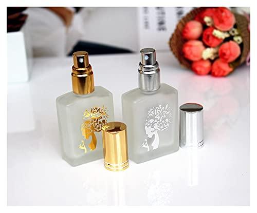 JSJJAWS Botella contenedor 10 unids/Lote Botella de espray de Perfume de Cristal...