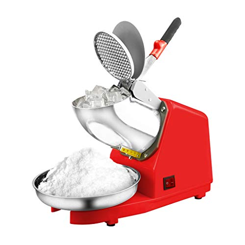 Lattice Eiszerkleinerer Elektrischer Eisrasierer 1500 U/Min mit Edelstahlklinge Rasierte EIS-Schneekegel-Küchenmaschine Küchenmaschine 187 Pfund pro Stunde, 100% Sicherheitsdesign