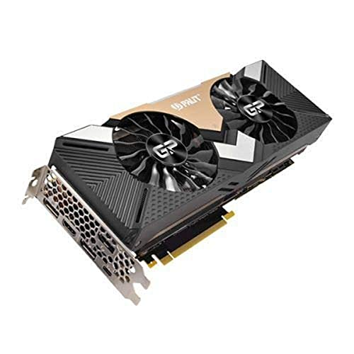 Palit ne6208t020lc-150a GeForce RTX 2080ti Dual 11GB GDDR6/PCI Express 3.0scheda grafica–nero