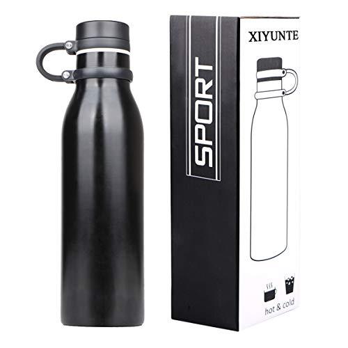XIYUNTE Acero inoxidable Frascos térmicos para bebida - 21oz / 600ml Termos botellas de agua Vacío Aislado fugas Tazas térmicas Botella deportiva BPA-Free Cantimploras y botellas de agua