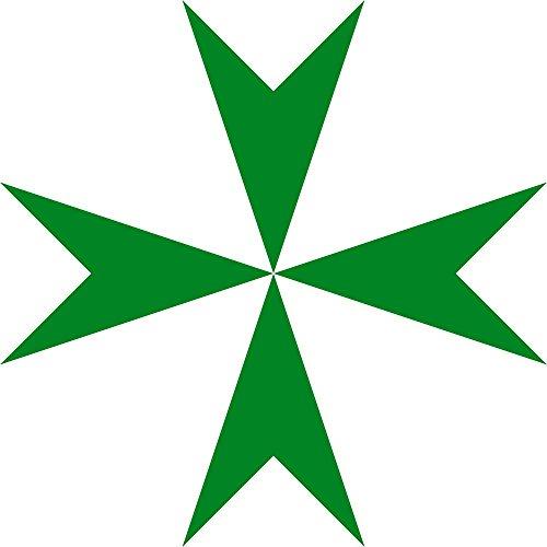 DIPLOMAT Flagge Lazarus-Orden | Fahne 0.06m² | 25x25cm für Flags Autofahnen
