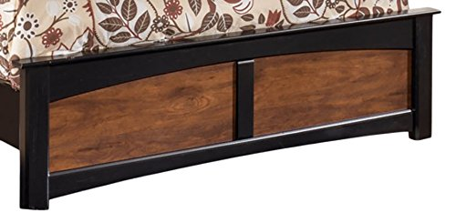 Great Price! Ashley Furniture Signature Design – Aimwell Full Panel Footboard – Component Piece – Dark Brown