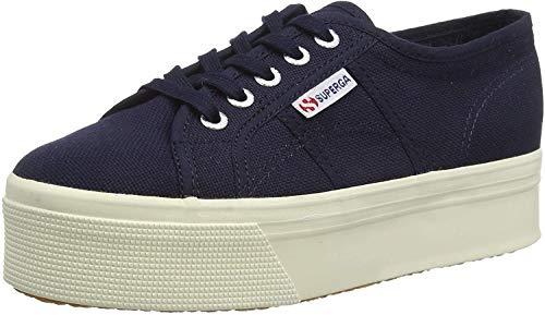 Superga 2790 Linea Updown Flatform Damen Sneaker,Blau (933) ,40 EU