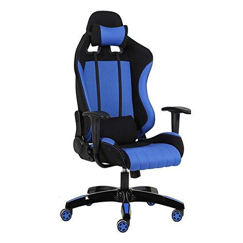 HYY-YY Presidenza di cuoio E-Sports Racing Game Sedia da ufficio Computer sedia con schienale alto-sedia girevole PU adatta for l'ufficio di...