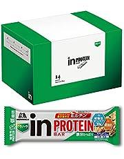 inバー プロテイン グラノーラ (14本入×1箱) フルーツの入ったザクザク食感グラノーラ 高タンパク10g 低脂肪 植物性プロテイン 鉄分 プロテインの働き強めるEルチン配合