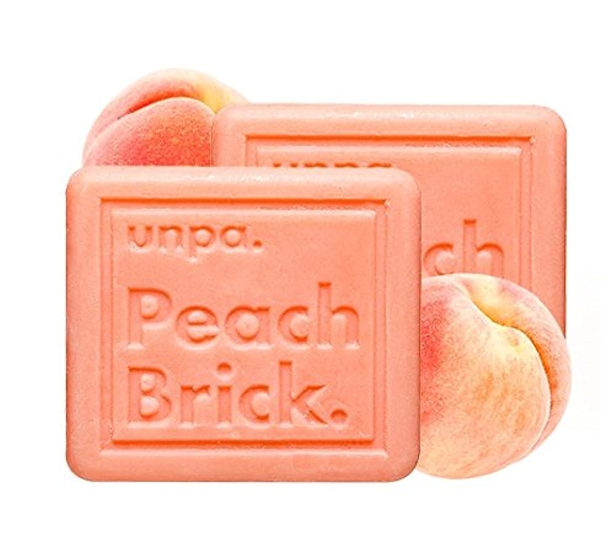 実装する事実上イディオムunpa ピッチ?ブリック?トンアップ?ソープ(Peach Brick Tone-Up Soap)