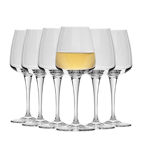 BORMIOLI ROCCO Verres à vin Blanc Aurum - Lot de 6-350 ML (11,75 oz)