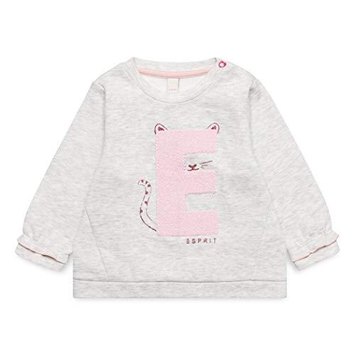 ESPRIT KIDS ESPRIT KIDS Baby-Mädchen Sweatshirt, Grau (Light Heather Grey 221), 68